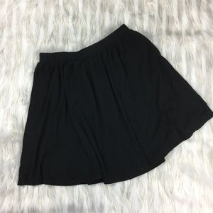 {Top Shop} Black Skater Skirt Sz 8